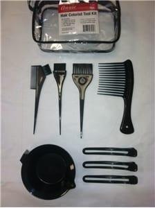 Annie Hair Colorist 9-piece Tool Kit