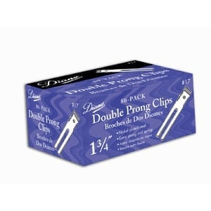 Diane Double Prong Clips 80-Pk
