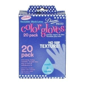 Black Gloves (20/Box) Large